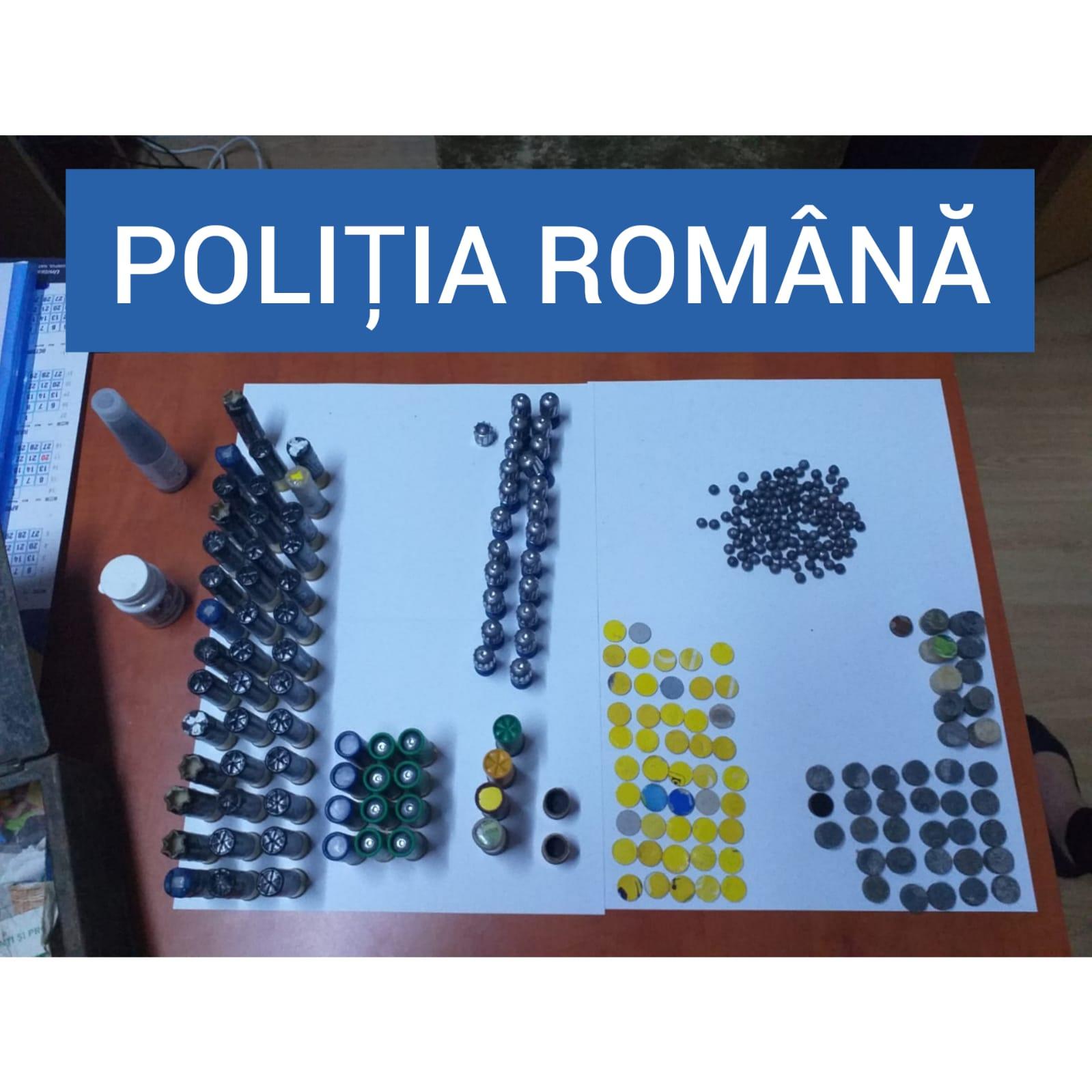 confiscare pușcă artizanală de vânătoare Bocșa (1)