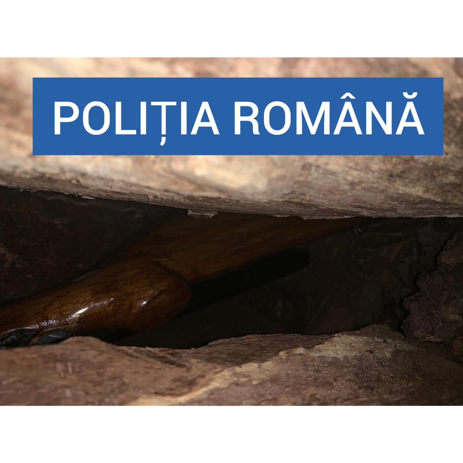 confiscare pușcă artizanală de vânătoare Bocșa (3)