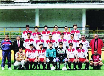 Fig. 11. CSM Reșița – 1997 –promovarea în Divizia A