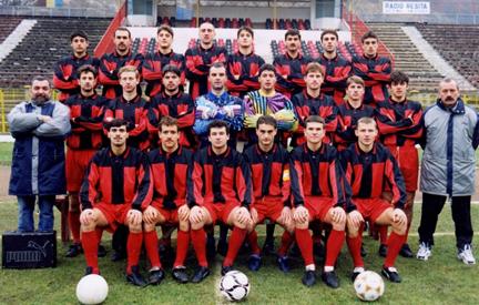 Fig. 12. CSM Reșița – 1997/1998 – Divizia A