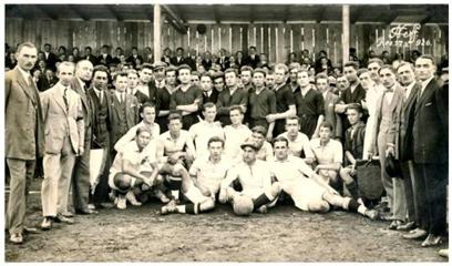 Fig.2. SS UDR – 1926 pe vechea arenă UDR (zona Mociur)
