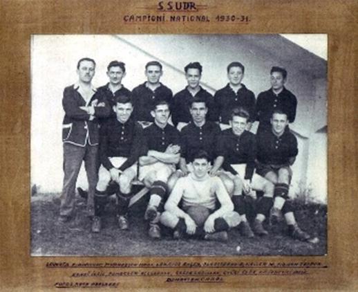 Fig.3. UDR Reșița – 1931 Campioana României