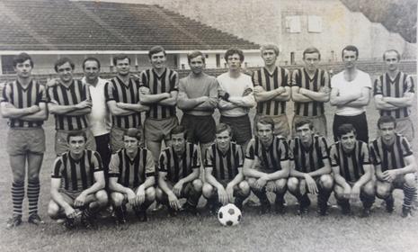 Fig.6. CSM Reșița – 1971/1972